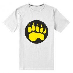 Чоловіча стрейчова футболка слід - FatLine