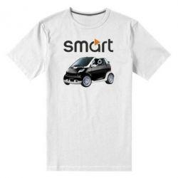 Мужская стрейчевая футболка Smart 450