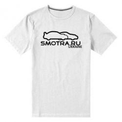 Мужская стрейчевая футболка Smotra UA - FatLine