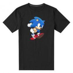 Мужская стрейчевая футболка Sonic 3d - FatLine