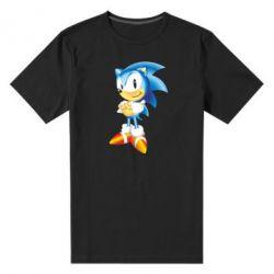 Мужская стрейчевая футболка Sonic - FatLine