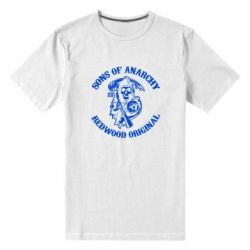 Мужская стрейчевая футболка Sons of Anarchy - FatLine