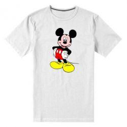 Мужская стрейчевая футболка Сool Mickey Mouse - FatLine