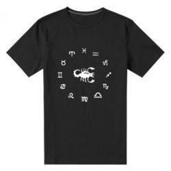 Мужская стрейчевая футболка сорпион 4 - FatLine