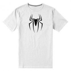Мужская стрейчевая футболка Spider Man Logo - FatLine