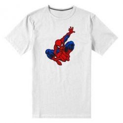 Мужская стрейчевая футболка Spiderman - FatLine