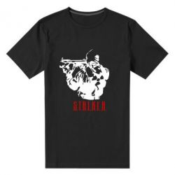 Мужская стрейчевая футболка Stalker - FatLine