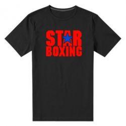 Мужская стрейчевая футболка Star Boxing - FatLine