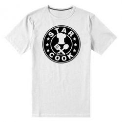 Мужская стрейчевая футболка Star Cook - FatLine