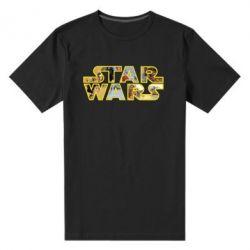 Мужская стрейчевая футболка Star Wars 3D - FatLine