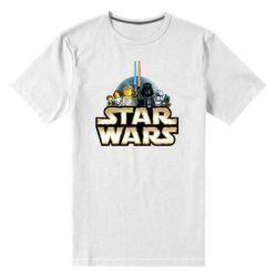 Мужская стрейчевая футболка Star Wars Lego - FatLine
