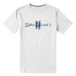 Мужская стрейчевая футболка StarCraft 2 - FatLine