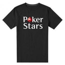 Мужская стрейчевая футболка Stars of Poker - FatLine