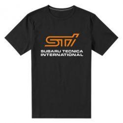 Мужская стрейчевая футболка STI - FatLine