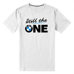 Мужская стрейчевая футболка Still the one - FatLine