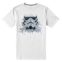 Мужская стрейчевая футболка Storm Troopers - FatLine