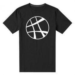 Мужская стрейчевая футболка Strange Logo