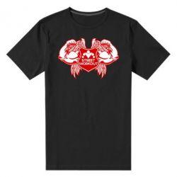 Мужская стрейчевая футболка Street Workout Крылья - FatLine
