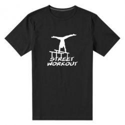 Мужская стрейчевая футболка Street workout - FatLine