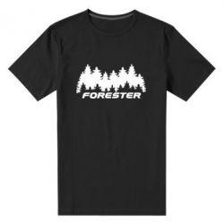 Мужская стрейчевая футболка Subaru Forester