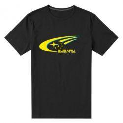 Мужская стрейчевая футболка Subaru WRT - FatLine