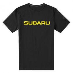 Чоловіча стрейчева футболка Subaru