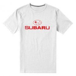 Мужская стрейчевая футболка Subaru - FatLine