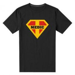 Мужская стрейчевая футболка Super Medic - FatLine