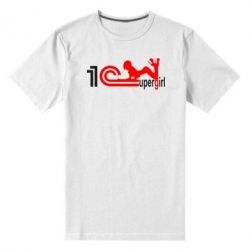 Мужская стрейчевая футболка Supergirl 4 1С Бухгалтерия - FatLine