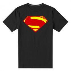 Мужская стрейчевая футболка Superman Человек из стали - FatLine