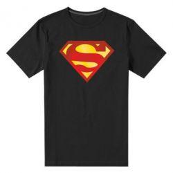 Мужская стрейчевая футболка Superman Classic - FatLine