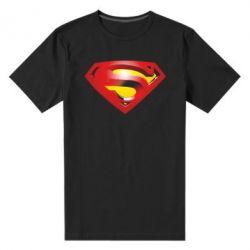 Мужская стрейчевая футболка Superman Emblem - FatLine
