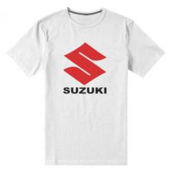 Мужская стрейчевая футболка Suzuki - FatLine