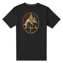 Мужская стрейчевая футболка Сверхъестественное Арт - FatLine