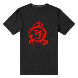 Мужская стрейчевая футболка Сверхъестественное логотип - FatLine