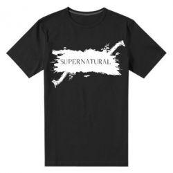 Мужская стрейчевая футболка Сверхъестественное - FatLine