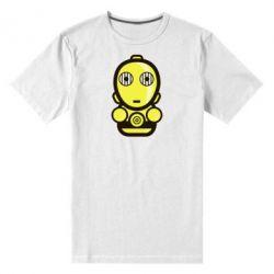 Мужская стрейчевая футболка Sweet C-3PO - FatLine