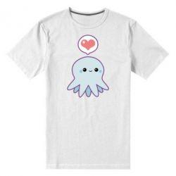 Мужская стрейчевая футболка Sweet Octopus