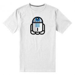 Мужская стрейчевая футболка Sweet R2D2 - FatLine