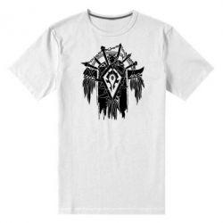 Мужская стрейчевая футболка Symbol horde - FatLine