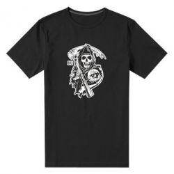 Мужская стрейчевая футболка Сыны Анархии - FatLine
