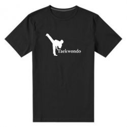 Мужская стрейчевая футболка Taekwondo - FatLine