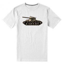 Мужская стрейчевая футболка Танк - FatLine