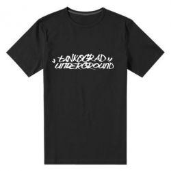 Мужская стрейчевая футболка Tankograd Logo - FatLine