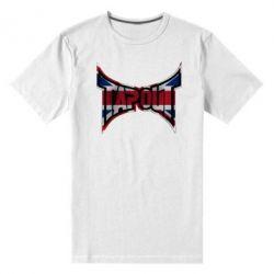 Мужская стрейчевая футболка Tapout England - FatLine