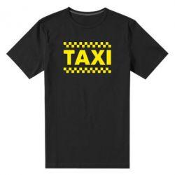 Мужская стрейчевая футболка TAXI - FatLine