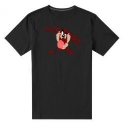 Мужская стрейчевая футболка Таз Тасманский дьявол - FatLine