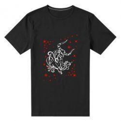 Мужская стрейчевая футболка Телец - FatLine