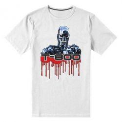 Мужская стрейчевая футболка Терминатор Т-800