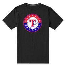 Мужская стрейчевая футболка Texas Rangers - FatLine